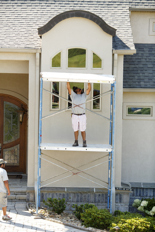Stucco Repairs - Knoxville, TN - Tennessee Building and Moisture ...
